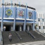 Fachada del Palacio de la Policía Nacional. Hoy/ Aracelis Mena. 12/04/2019