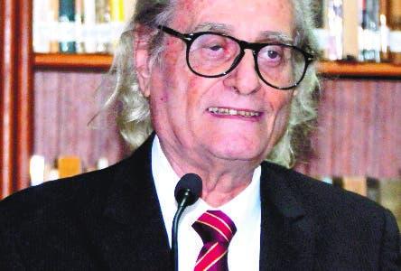Puesta en circulación de dos libros en la fundación Corripio ambos del autor Leon David. 3-04-19 Foto: Jose Adames Arias