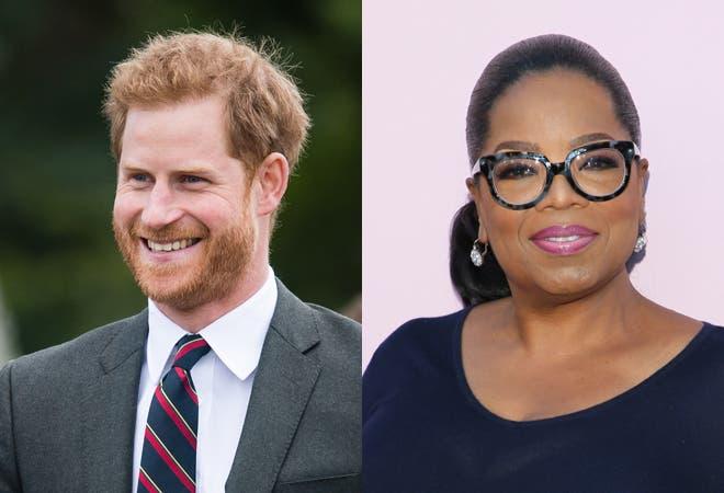 Príncipe Enrique y Oprah harán una serie sobre salud mental