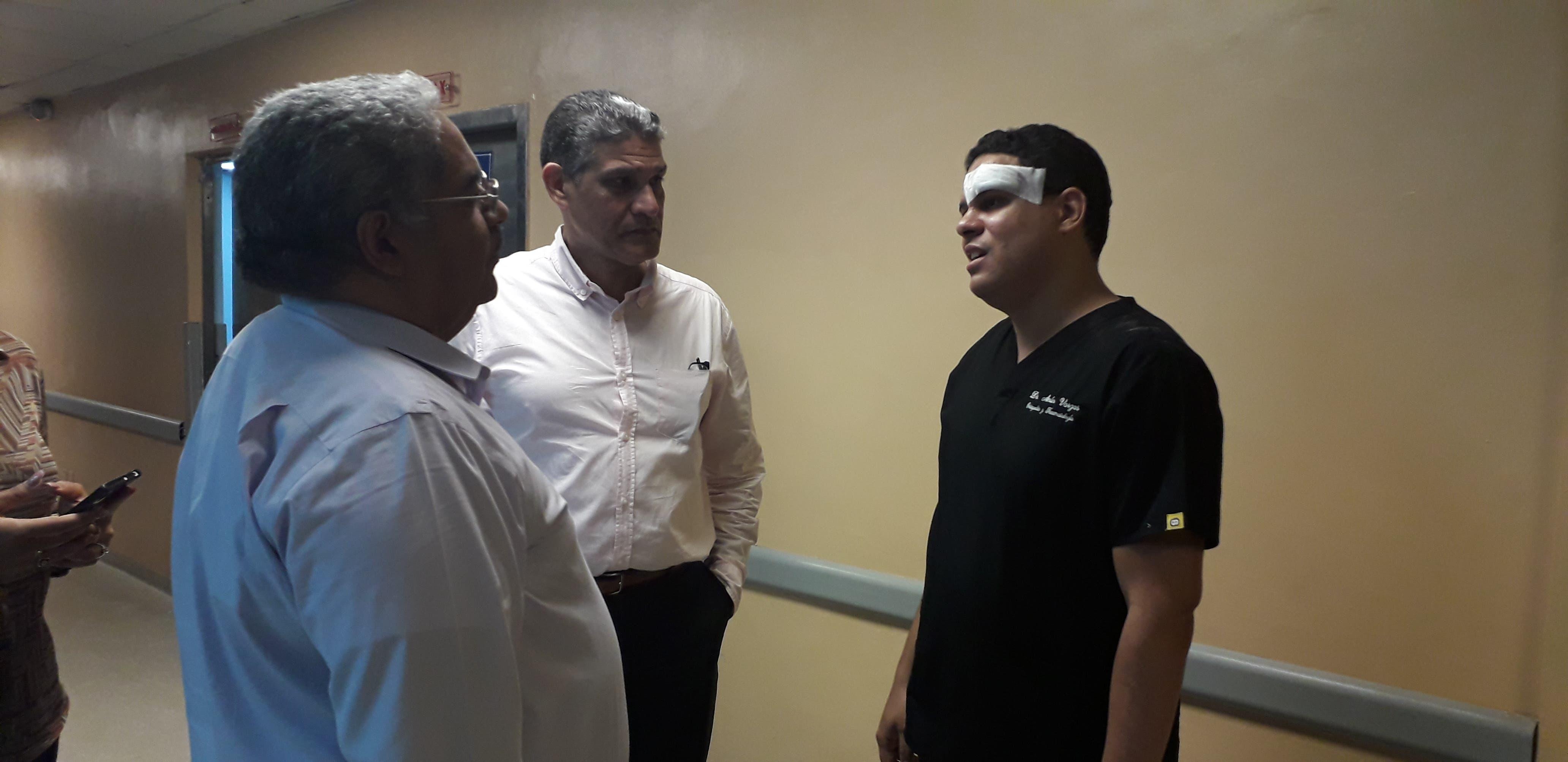 Detienen familiares y paciente que agredieron a médico en el hospital Darío Contreras