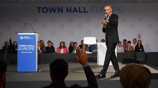 Obama a los estudiantes en Berlín: «Podéis cambiar el mundo»