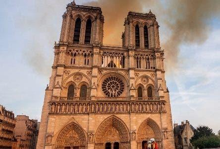 Incendio en la catedral Notre Dame