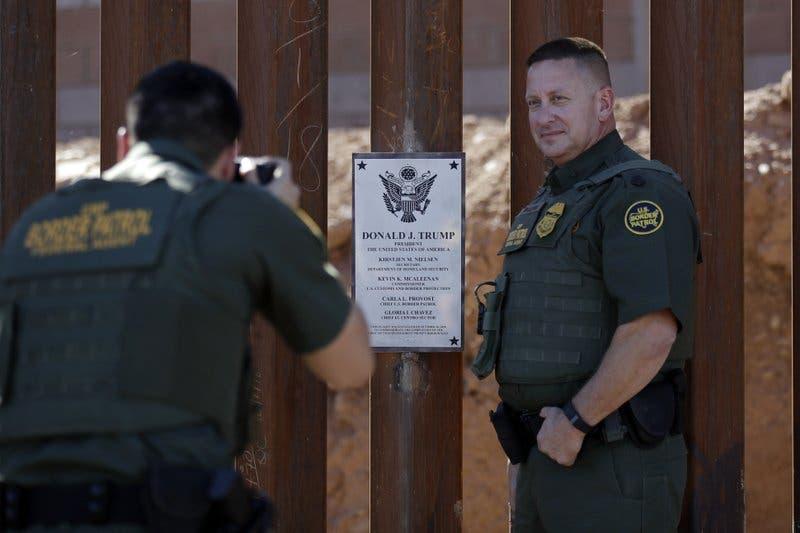 Estado del muro entre EEUU y México