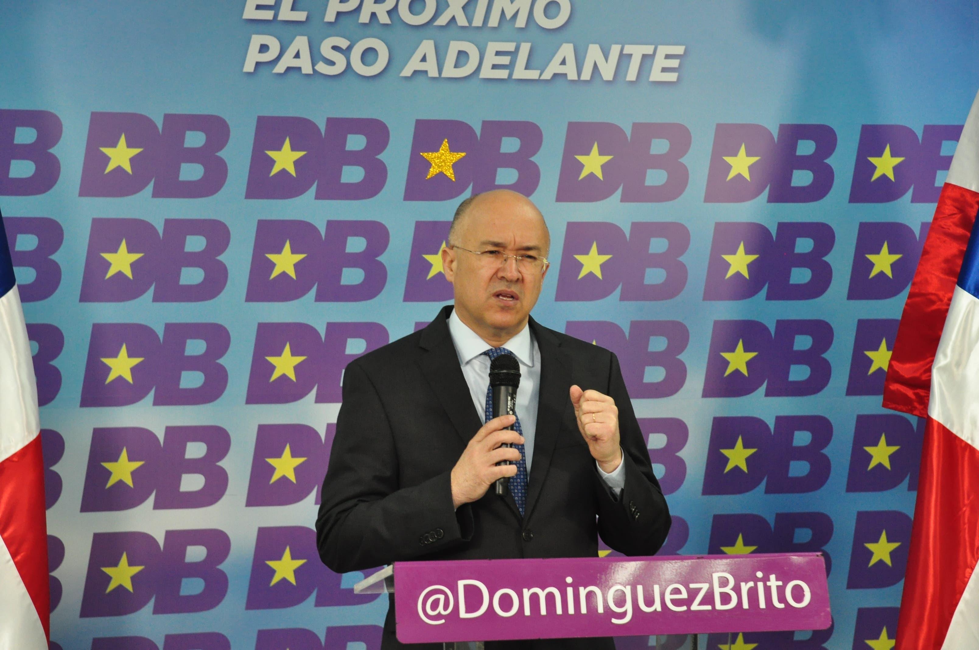 Domínguez Brito dice sectores del PLD manipulan declaraciones del Monseñor Ozoria