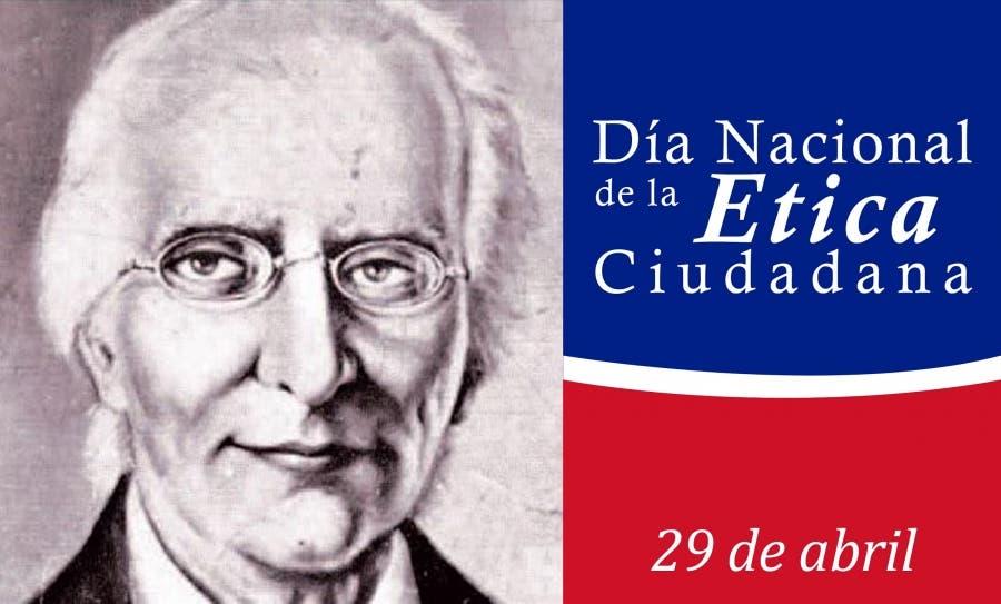 Sabías que hoy se celebra el Día Nacional de la Ética Ciudadana en honor a Ulises Francisco Espaillat