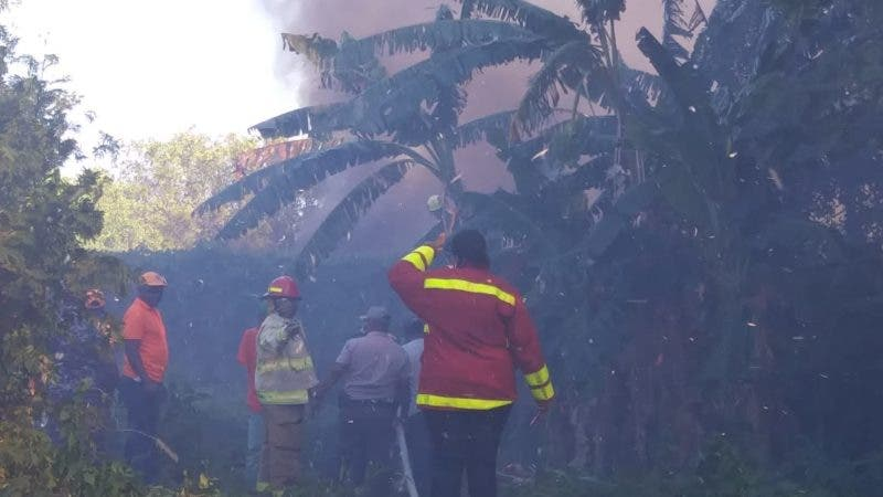 Fuego en Laguna de Mallen  (1)