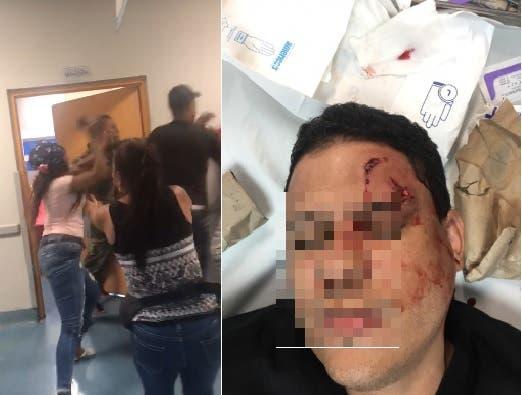 VIDEOS: Hieren médico durante enfrentamiento a puñetazos en el Darío Contreras