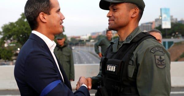 Enviado de Guaidó pide al Pentágono una reunión para hablar de «ayuda» militar