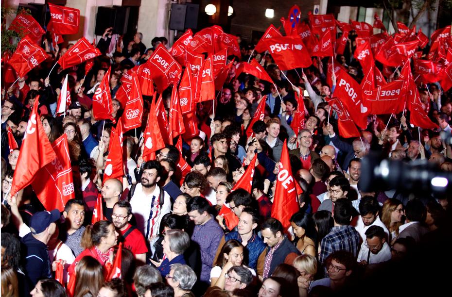 PSOE gana las elecciones en España pero necesitará pactar para gobernar