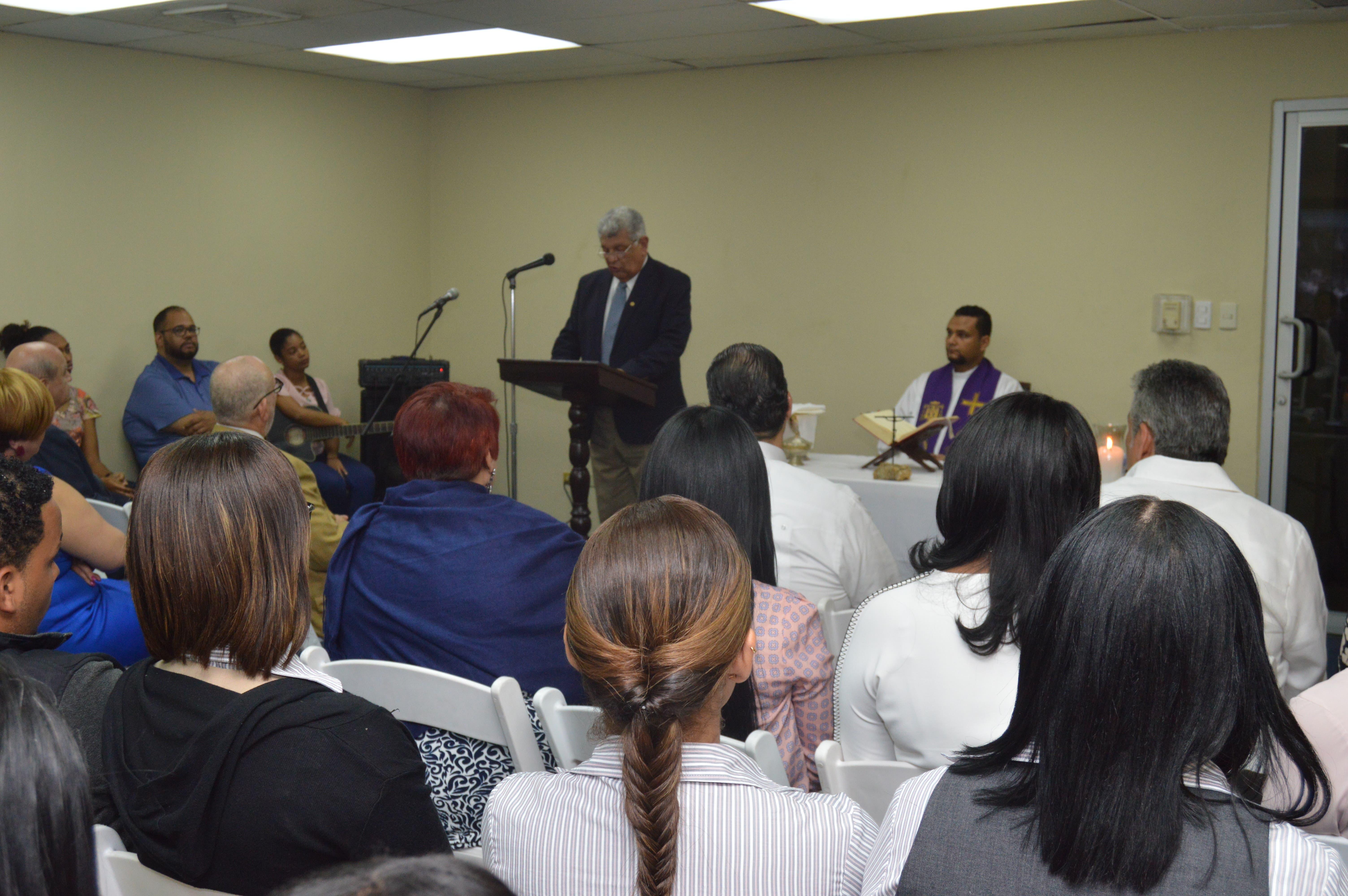 CENAPEC realiza misa por 47 aniversario de su fundación