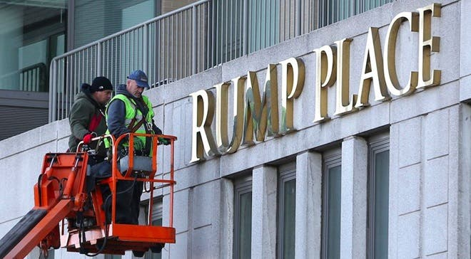 ¿Por qué eliminarán nombre de Trump de varios edificios en Nueva York?