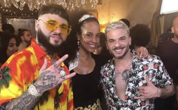 """Alicia Keys canta en nuevo remix de """"Calma» de Pedro Capó"""