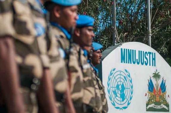 República Dominicana vota en contra de clausurar misión policial de la ONU en Haití
