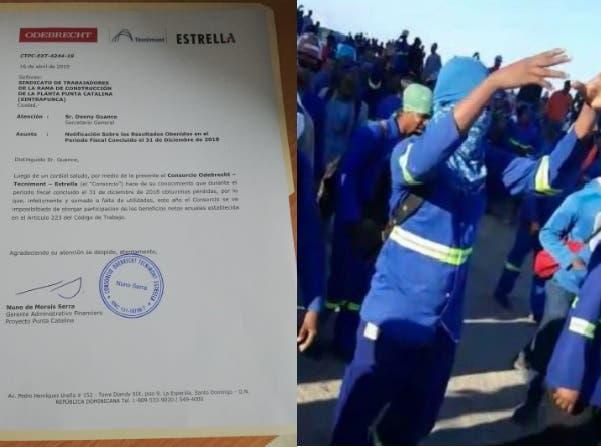 CDEEE responsabiliza a Odebrecht-Tecnimont-Estrella de conflicto con empleados Punta Catalina