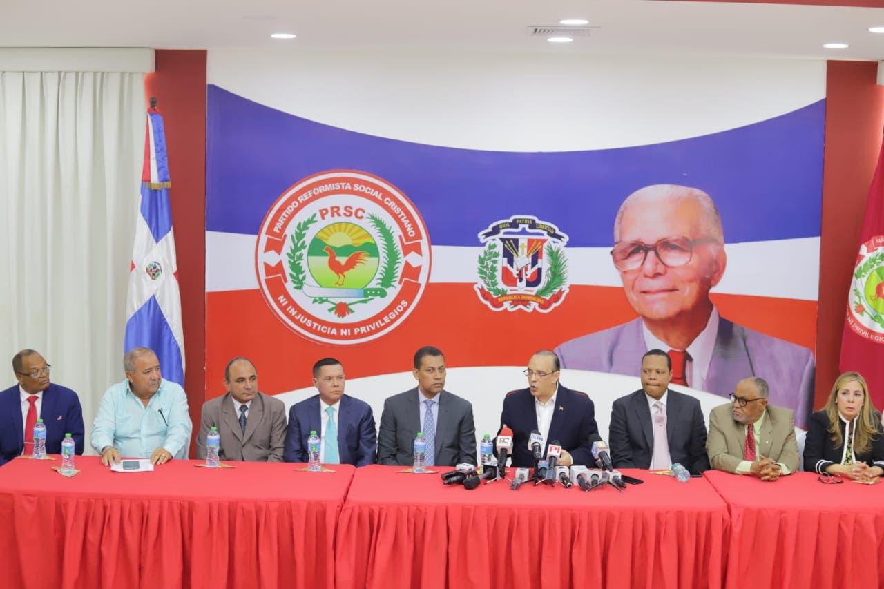 ¿Qué trató hoy Quique Antún, presidente de PRSC con comisión PRD encabezada por Guido Gómez Mazara durante reunión?