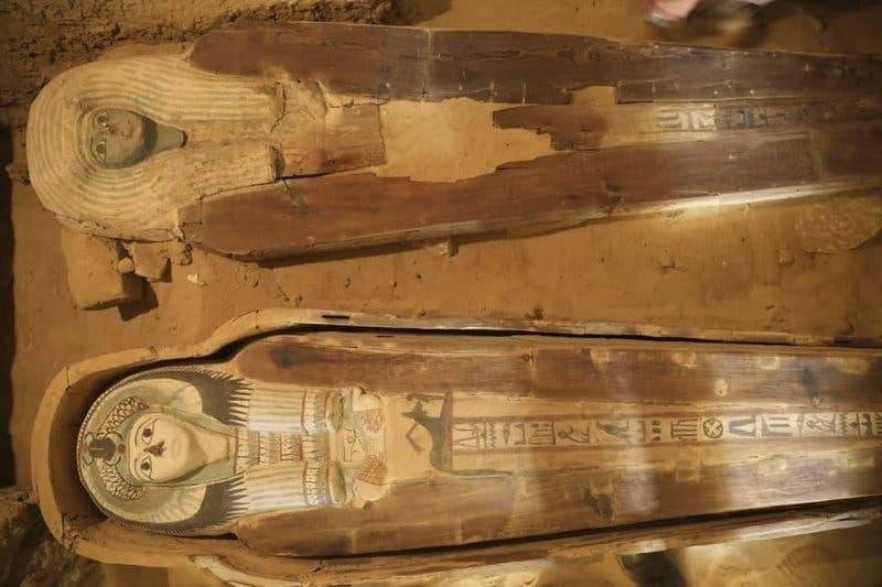 Hallan cementerio antiguo cerca de las pirámides de Giza