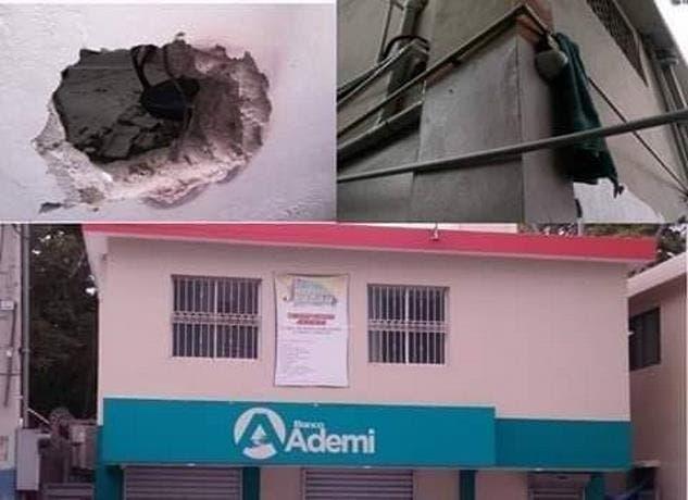 Lo que sabe sobre robo a sucursal de Banco Ademi en municipio de Tamboril