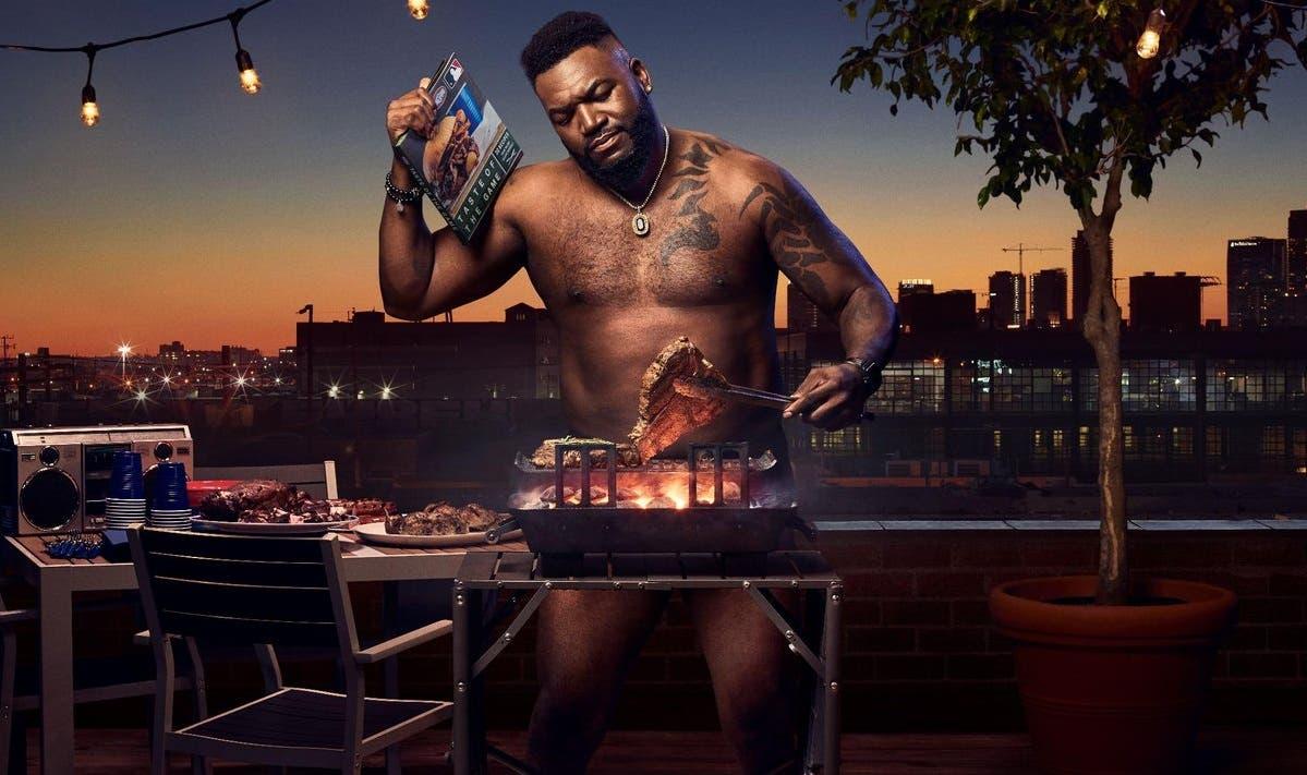 """El """"Big Papi"""" se desnuda completamente tras ser elegido para un comercial"""