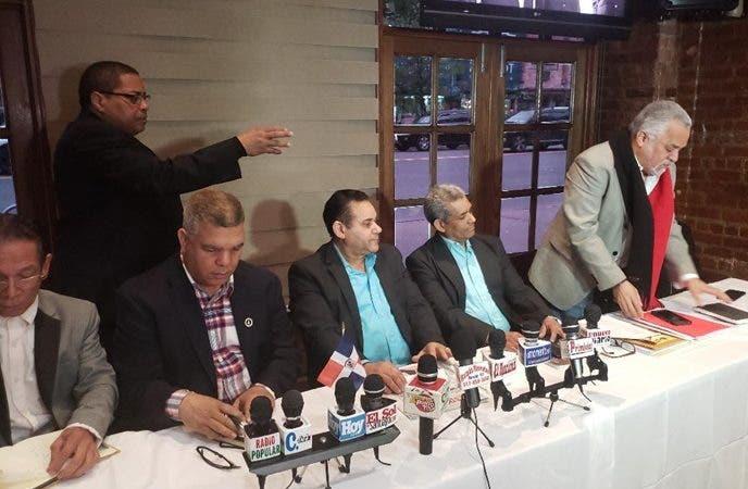 Delegados partidos RD-NY demandan cambios JCE Circunscripcion 1