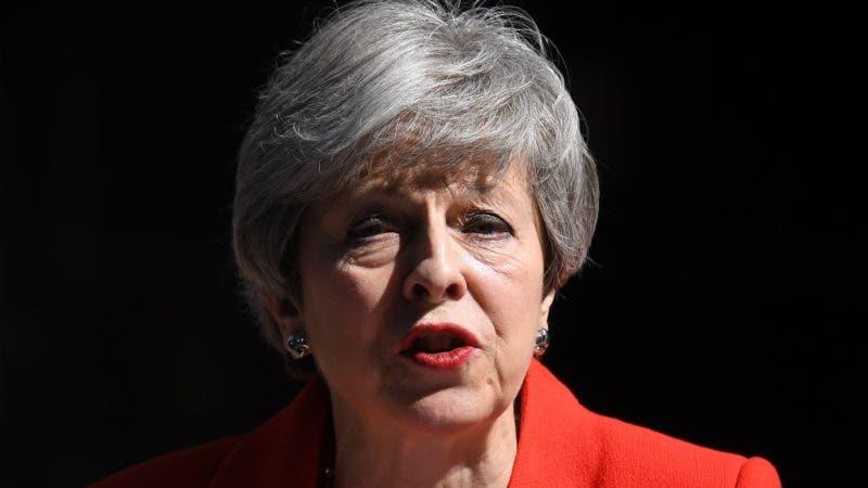Theresa May .