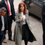 Llegada de Cristina Fernández a los Tribunales de Comodoro