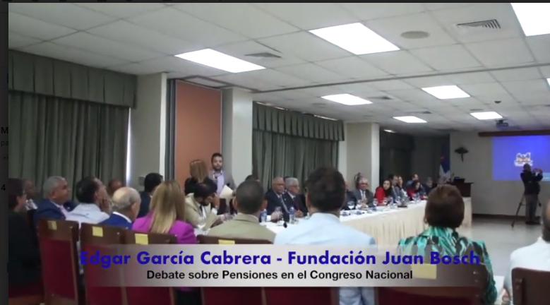 Fundación Juan Bosch llama al país a estar alerta ante modificación regresiva a la Ley de Seguridad Social