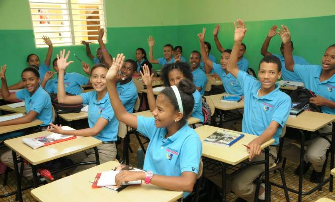Estudiantes dominicanos