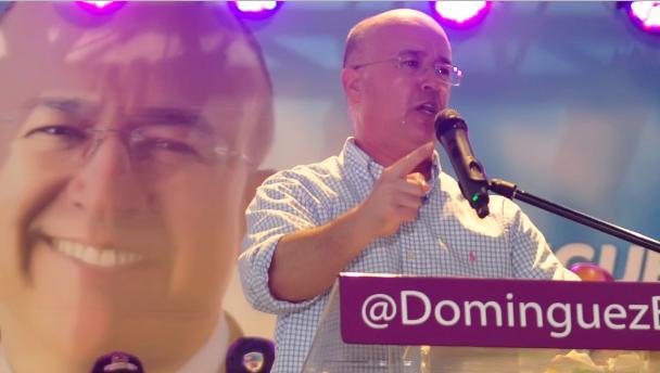 Domínguez Brito promete construir avenida de seis carriles Santiago-Tamboril