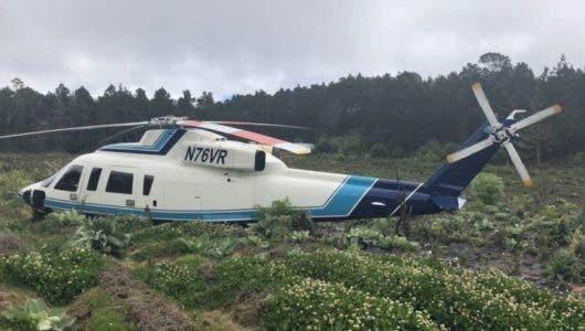 Helicoptero Ministro