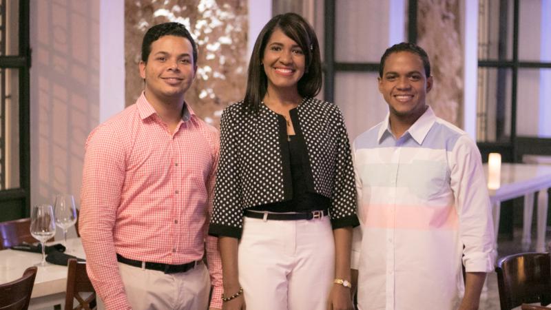 Jansel Fernández, Kesmerly Santana y Diógenes Henríquez