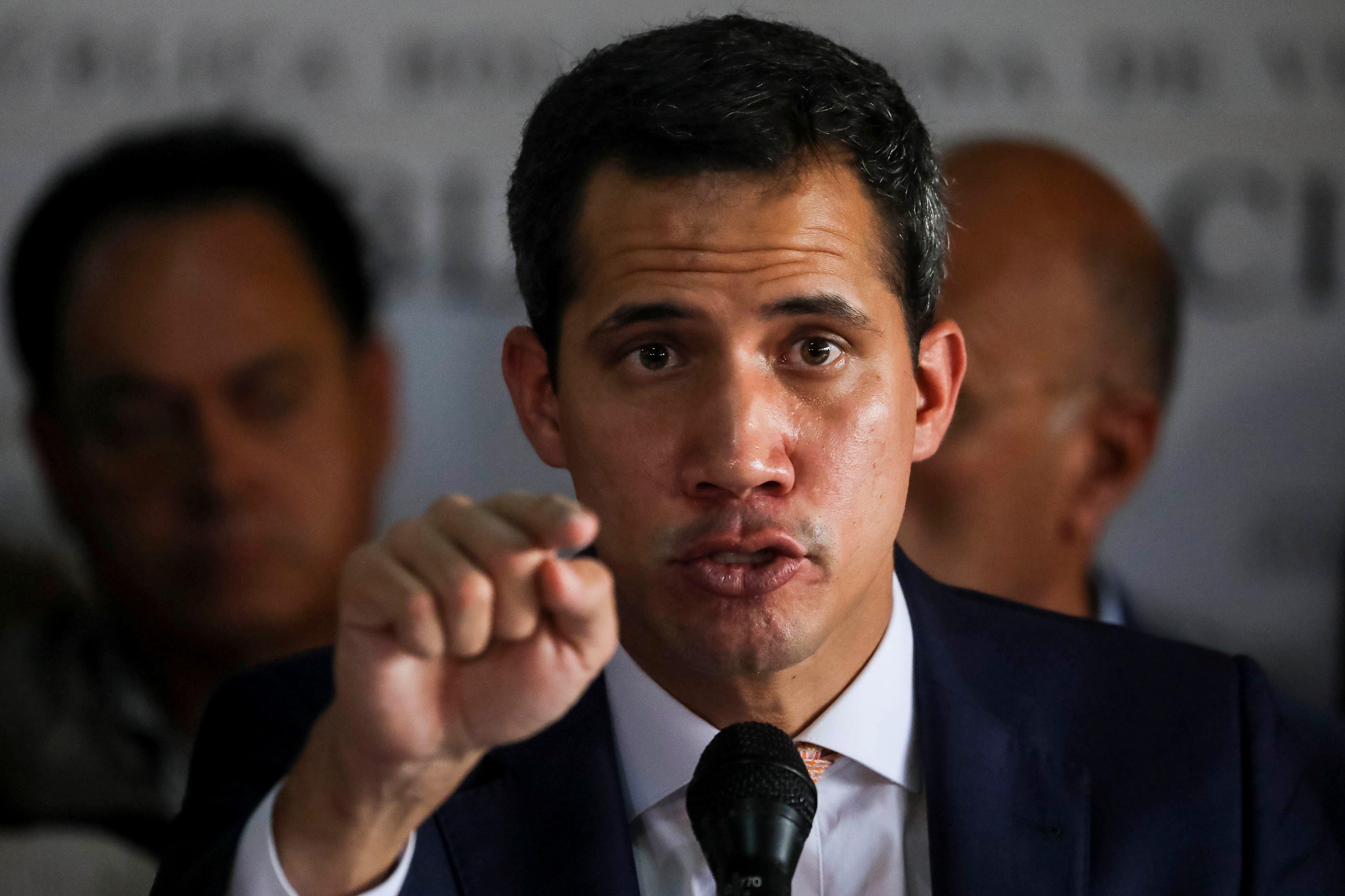 Juan Guaidó cree que Nicolás Maduro quiere secuestrar el Parlamento con operativo policial