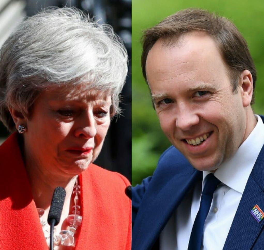 Secretario de Salud anuncia que quiere suceder a la primera ministra del Reino Unido Theresa May