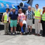 Turistas aviones