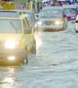 Una vaguada provoca lluvias.