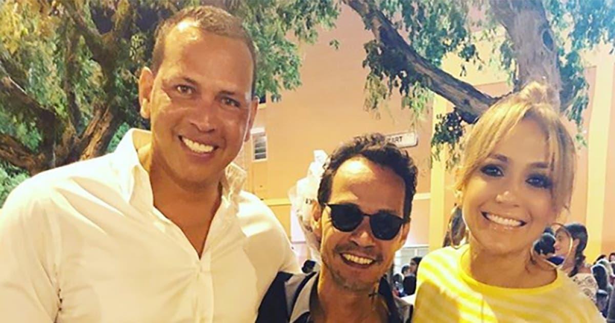 Alex Rodríguez publica video junto a Marc Anthony y Jennifer López