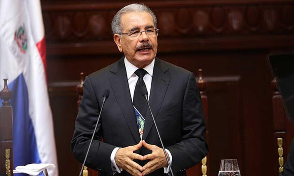 Danilo Medina envía al Congreso el proyecto de Ley de los Cuerpos de Bomberos