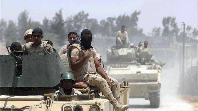 Tiroteos entre el Ejército egipcio y terroristas dejan al menos 52 muertos
