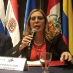 Sergia Elena de Selimán, candidata vicepresidencial Fuerza del Pueblo.