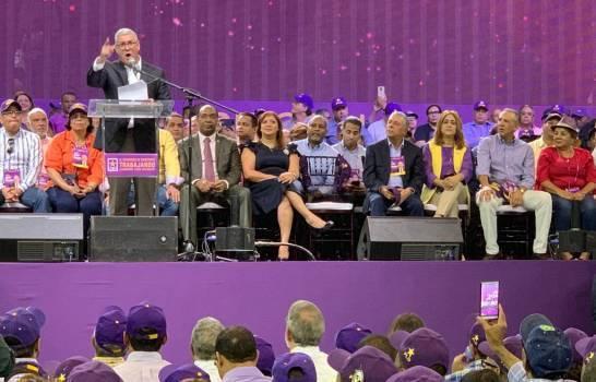 Fotos y videos: «Aquí está el verdadero PLD que defiende los intereses de la nación», dice Gonzalo Castillo en acto de apoyo a Danilo Medina