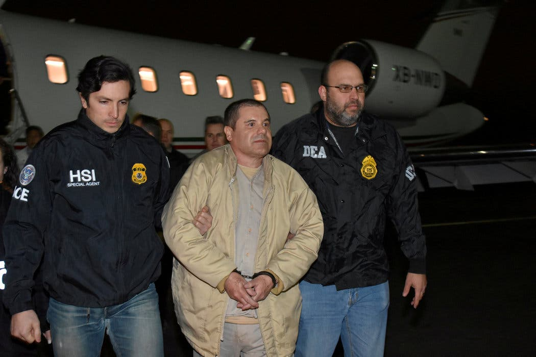 """Dan 15 años de prisión en EEUU a narcotraficante clave en juicio """"El Chapo»"""