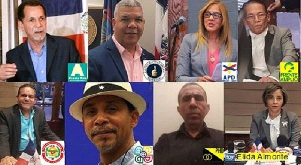 Partidos políticos y sectores dominicanos en NY rechazan medida JCE sobre arrastre