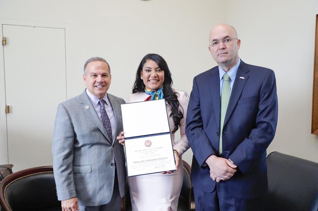 Congreso de Estados Unidos reconoce políticas de juventud del Gobierno dominicano