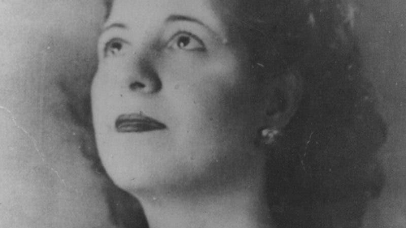 Virginia de Peña de Bordas. Reproducción Aracelis Mena