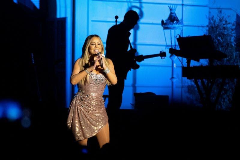 Noche de lujo con una poderosa Mariah Carey en los Jardines de Pedralbes