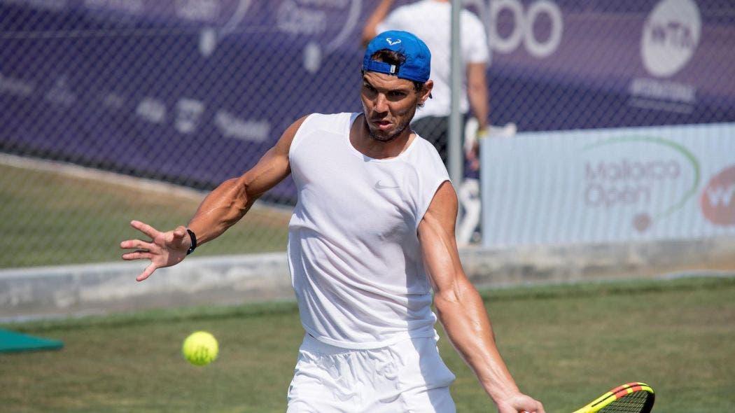 """Nadal: """"Jugar en la hierba de Wimbledon es la transición más radical»"""