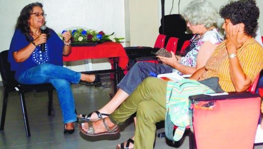 Tahira Vargas cita impacto de la trata de personas
