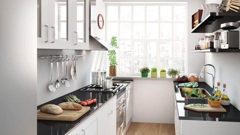 Hoy digital mini cocina h gala pr ctica y funcional for Amueblar cocina alargada