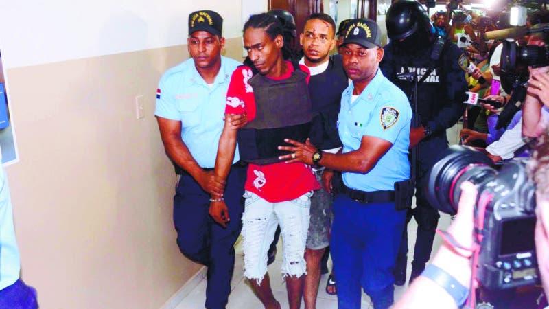 Medida de coercion caso David Ortiz en la Fiscalia Santo Domingo Este donde se impuso 1 año de prision preventiva a cada imputado.  14-6-2019 HOY / Ariel Gomez