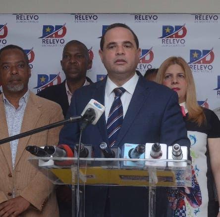 Manuel Crespo, El aspirante Presidencial del Partido de la Liberación Dominicana (PLD) y miembro del Comité Central, durante una Rueda de Presa en el Comando se Campaña en Santo Domingo Rep. Dom. 17 de junio del 2019. Foto Pedro Sosa