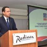 Ministro de Educación, Antonio Peña Mirabal llama a las familias a empoderarse e integrarse con mayor compromiso al proceso de enseñanza de los estudiantes. Fuente externa 23/06/2019